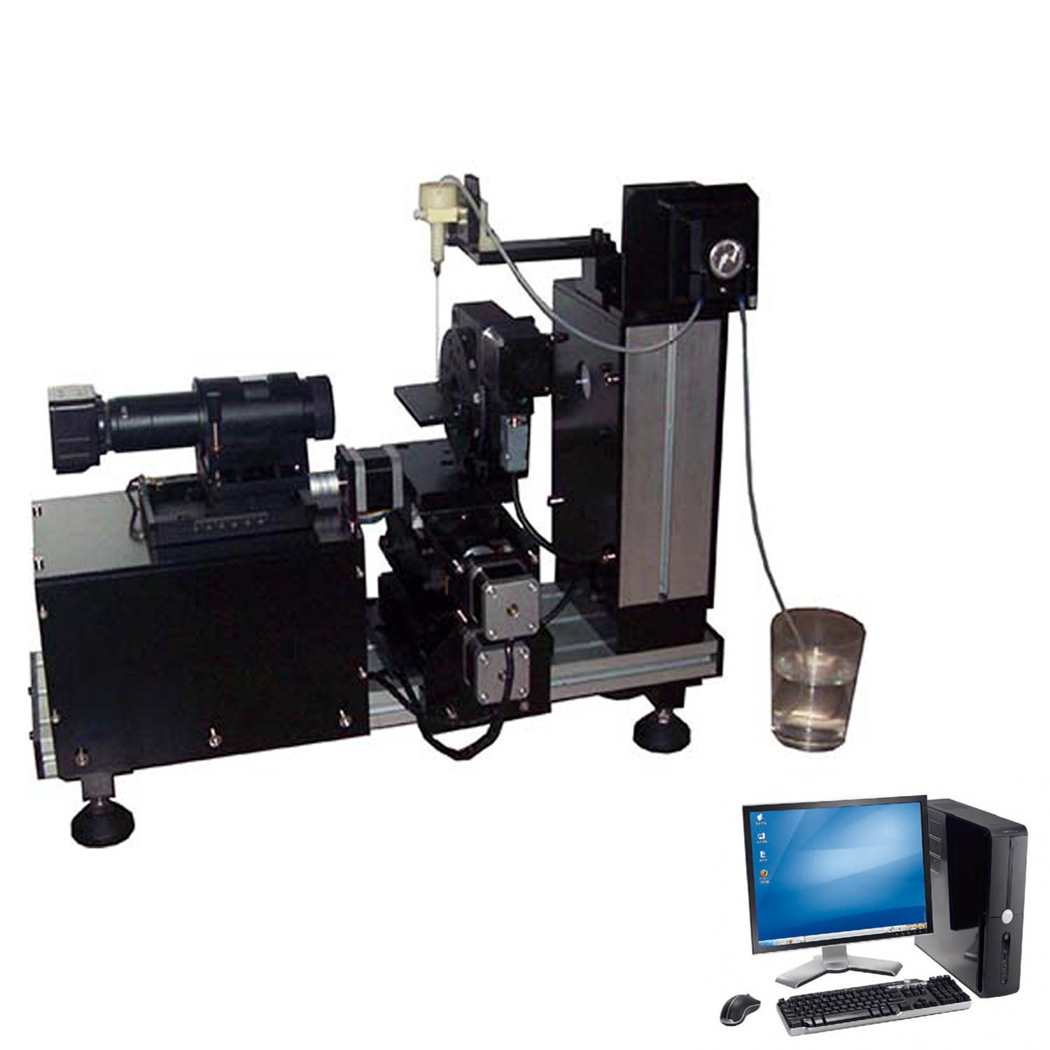 Cag200 contact angle tester tensiometer goniometer united test aloadofball Gallery